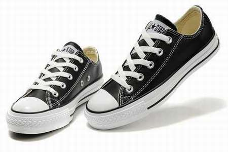 converse blanche basse intersport